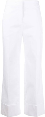 Boutique Moschino Low-Waist Straight Trousers