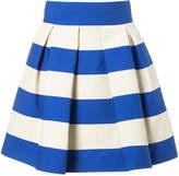 DELPOZO striped skirt