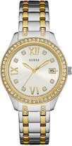 GUESS Women's Two-Tone Stainless Steel Bracelet Watch 37mm U0848L4