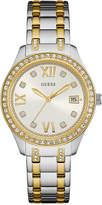 GUESS Women's Two-Tone Stainless Steel Bracelet Watch 37mm U0848L4