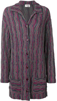 Missoni Pre Owned Patterned Knitted Jacket