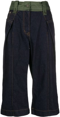 Sacai Camouflage Waist Trousers