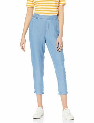 Vero Moda Women's VMMAYA MR Loose Summer Ankle Pant GA Trousers