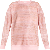 Ashish Embellished cotton-blend sweatshirt
