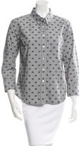 Band Of Outsiders Long Sleeve Printed Button-Up w/ Tags