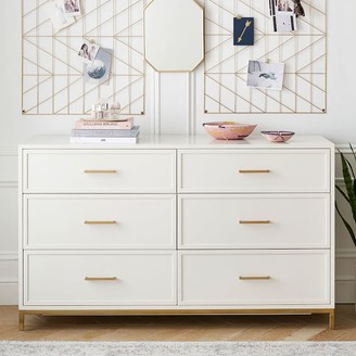 Pottery Barn Teen Blaire 6-Drawer Wide Dresser