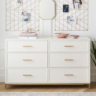 Pottery Barn Teen Blaire 6-Drawer Wide Dresser