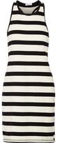 Splendid Striped Cotton-Jersey Mini Dress