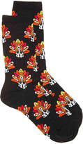 Hot Sox Turkey Dog Crew Socks - Women's