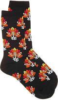 Hot Sox Women's Turkey Dog Women's Crew Socks