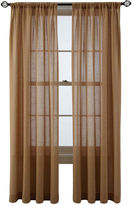 Martha Stewart MarthaWindowTM Figment Rod-Pocket/Back-Tab Curtain Panel