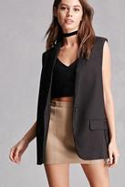 Forever 21 FOREVER 21+ Blush Noir Blazer Vest
