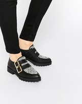 Miista Bhu Buckle Strap Flat Shoes