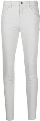 Emporio Armani High-Rise Skinny Jeans