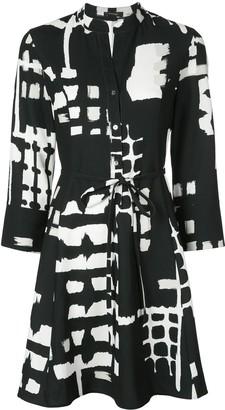 Natori Printed Shirt Dress
