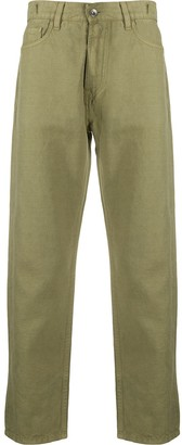 YMC Cropped Slim-Fit Trousers