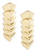 Jules Smith Designs Chevron Linear Earrings