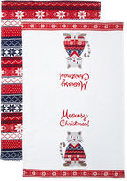 North Pole Trading Co Meowsy Christmas 2-pc. Kitchen Towel