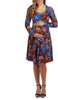 24/7 Comfort Apparel Breath of Fresh Air Maternity Dress