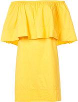 Apiece Apart off the shoulder dress - women - Cotton - 4