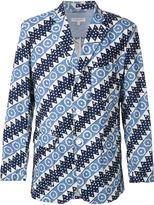 Engineered Garments printed blazer - men - Cotton/Polyester - XL