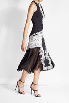 Jonathan Simkhai Lace Applique Midi Dress