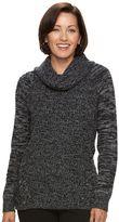 Croft & Barrow Women's Marled Cowlneck Sweater