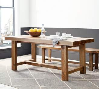 Pottery Barn Reed Extending Dining Table