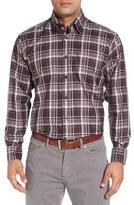 Robert Talbott Men's 'Anderson' Classic Fit Plaid Cotton Sport Shirt