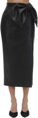 ANOUKI High Waist Faux Leather Skirt