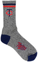 For Bare Feet Minnesota Twins Heathered Crew Socks