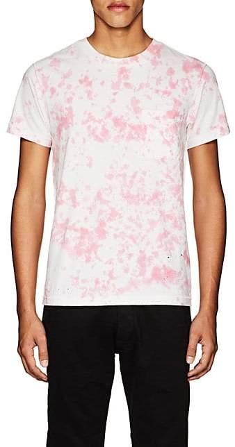 NSF Men's Tie-Dyed Cotton T-Shirt - Pink