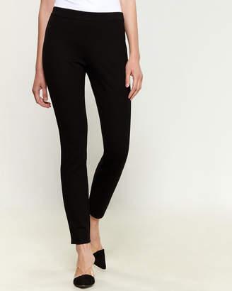 Max Studio Ponte Pull-On Skinny Pants