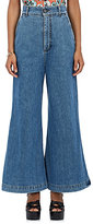 Marni Women's Wide-Leg Crop Jeans