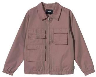 Stussy Women Iridescent Multi Pocket Jacket Red - M