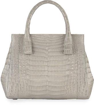 Nancy Gonzalez Daisy Small Crocodile Satchel Bag