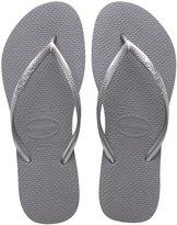 Havaianas Slim Sandal Flip Flop (Women) - Steel Grey - 7/8 M US