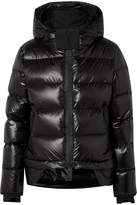 TEMPLA - Nano Hooded Quilted Shell Down Coat - Black