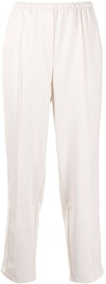 GOODIOUS Side Stripe Tapered Trousers