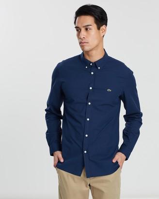 Lacoste Slim Fit Stretch Poplin Shirt