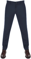 Farah Elm Hopsack Trousers Navy
