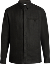 Fanmail Uniform long-sleeved linen shirt