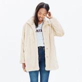 Madewell Stagedoor Faux-Fur Coat