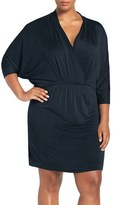 Tart Plus Size Women's 'Constance' Batwing Sleeve Blouson Dress