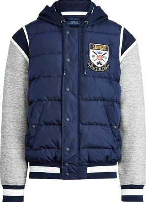 Ralph Lauren Down-Panelled Baseball Jacket