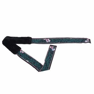 Cngstar Fashion Scarf Faux Fur Scarf for Women Soft Stretchy Lightweight Winter Scarf Shawl Neck Warmer