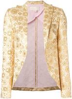 Antonio Berardi floral jacquard blazer - women - Acrylic/Polyester - 38