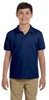 Gildan Youth DryBlend Pique Polo Sport Shirt