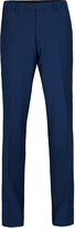 Oxford T27 Wool Mohair Trousers Br Blu X
