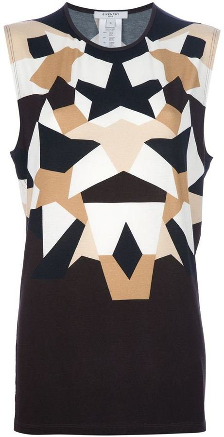 Givenchy geometric print top
